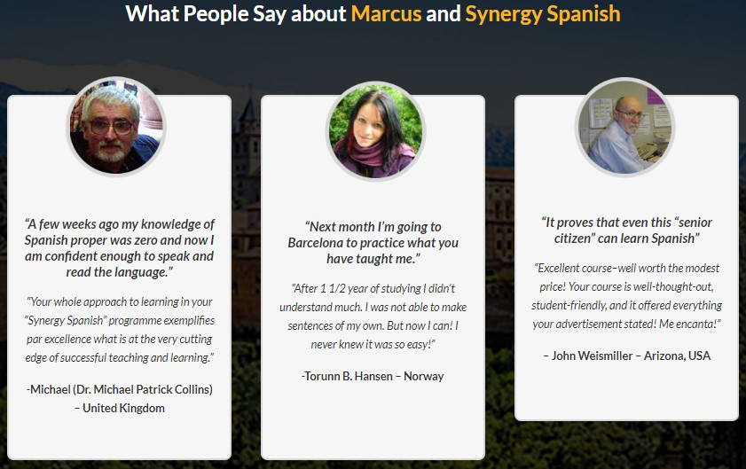 Synergy Spanish Reviews - Is Marcus Santamaria Scam?